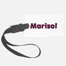 Marisol Red Caps Luggage Tag