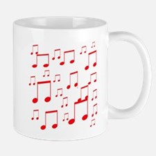 MUSICAL NOTES Xâ?¢.psd Mug