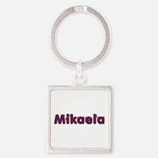 Mikaela Red Caps Square Keychain