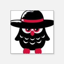 owl_with_hat Sticker