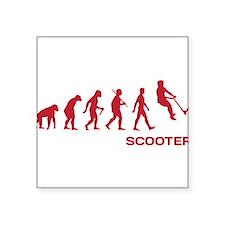 Darwin Ape to man Evolution Push Kick Scooter Stic