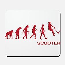 Darwin Ape to man Evolution Push Kick Scooter Mous