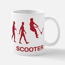 Darwin Ape to man Evolution Push Kick Scooter Mug