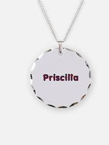 Priscilla Red Caps Necklace