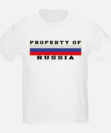 Property Of Russia T-Shirt