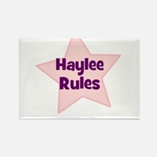 Haylee Rules Rectangle Magnet