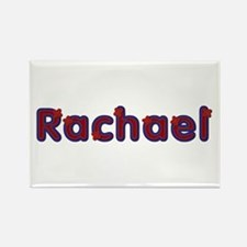 Rachael Red Caps Rectangle Magnet