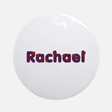 Rachael Red Caps Round Ornament
