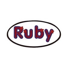Ruby Red Caps Patch