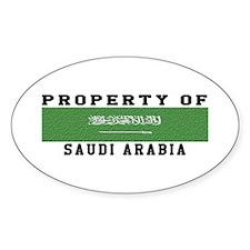 Property Of Saudi Arabia Decal
