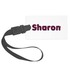Sharon Red Caps Luggage Tag
