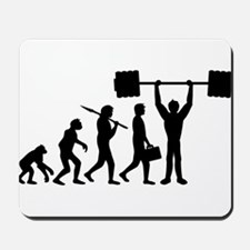 weightlifting_evolution Mousepad