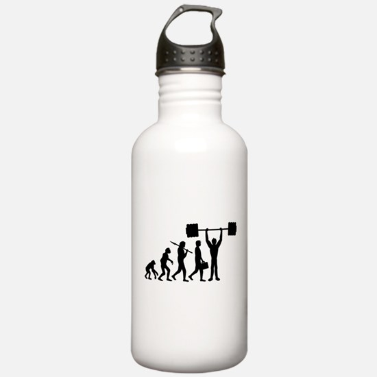 weightlifting_evolution Water Bottle