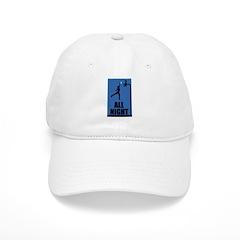 All Night Basketball Baseball Cap