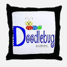 Doodlebug Throw Pillow