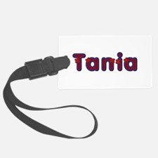 Tania Red Caps Luggage Tag