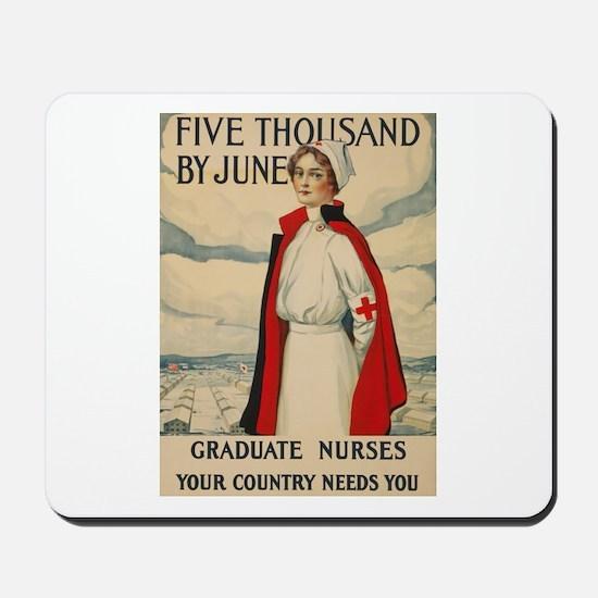 USA Nurse Mousepad