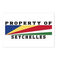 Property Of Seychelles Postcards (Package of 8)