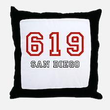 619 Throw Pillow