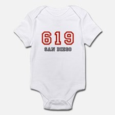 619 Infant Bodysuit