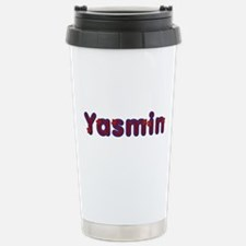 Yasmin Red Caps Travel Mug