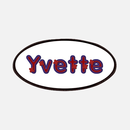 Yvette Red Caps Patch