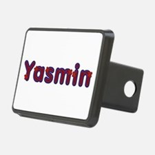 Yasmin Red Caps Hitch Cover