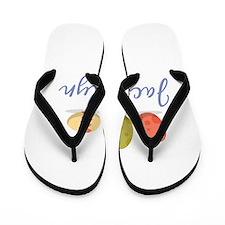 Easter Egg Jacquelyn Flip Flops