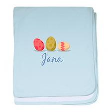 Easter Egg Jana baby blanket