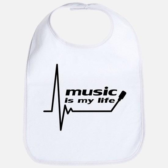 music_is_my_life Bib