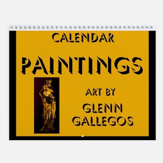 PAINTINGS - Wall Calendar