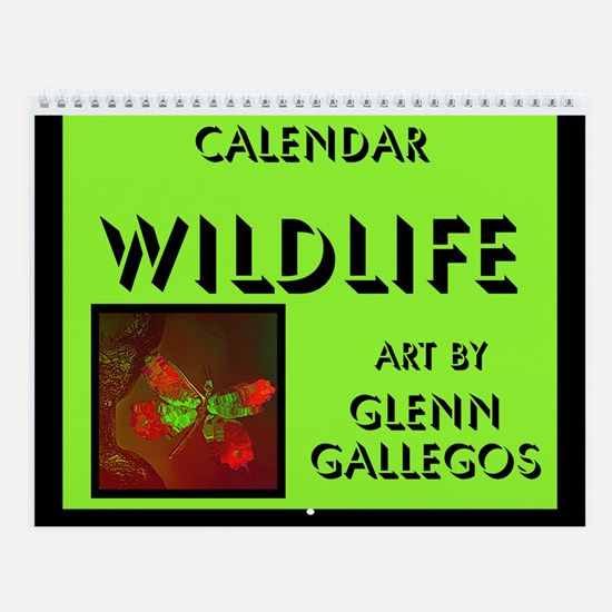 WILDLIFE - Wall Calendar