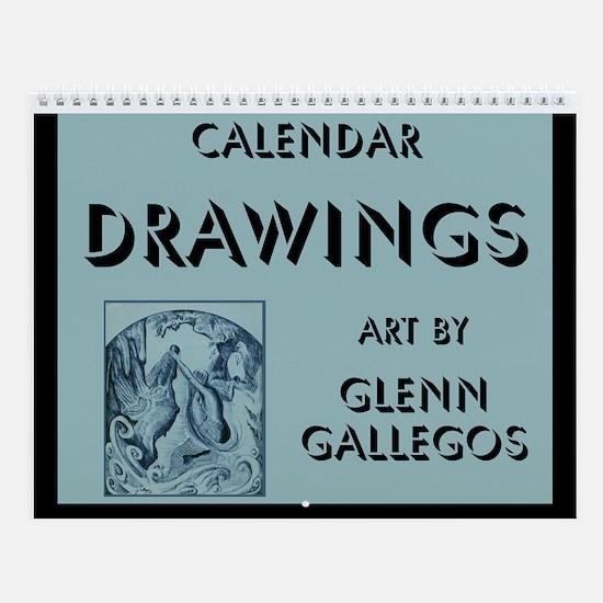 DRAWINGS - Wall Calendar
