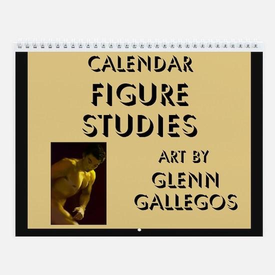 FIGURE STUDIES - Wall Calendar
