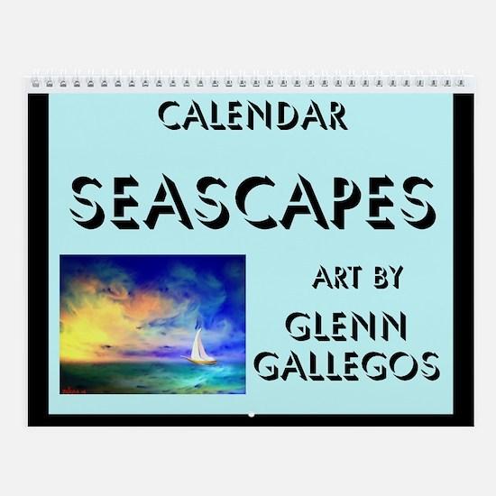 SEACAPES - Wall Calendar