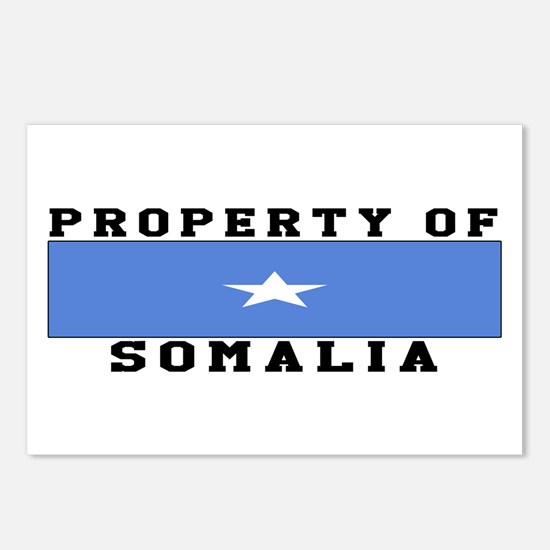 Property Of Somalia Postcards (Package of 8)