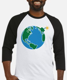 explosive_earth Baseball Jersey
