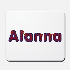 Alanna Red Caps Mousepad