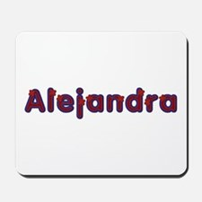 Alejandra Red Caps Mousepad