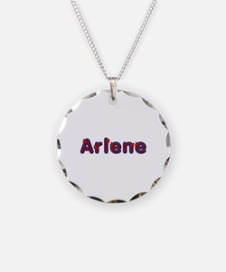 Arlene Red Caps Necklace