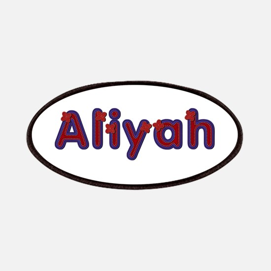 Aliyah Red Caps Patch