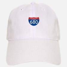 Interstate 680 - CA Baseball Baseball Cap