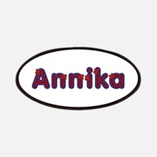 Annika Red Caps Patch
