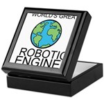Worlds Greatest Robotics Engineer Keepsake Box
