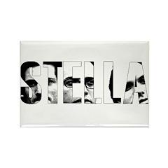 STELLA Faces - Rectangle Magnet