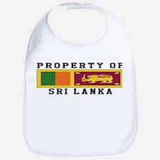 Property Of Sri Lanka Bib