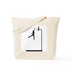 Soar Basketball Tote Bag