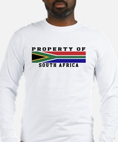 Property Of South Africa Long Sleeve T-Shirt