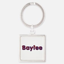 Baylee Red Caps Square Keychain