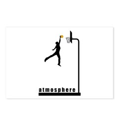 Atmosphere Basketball Postcards (Package of 8)